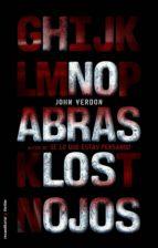 no abras los ojos (ebook)-john verdon-9788499183480
