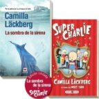 pack la sombra de la sirena + super charlie-camilla lackberg-9788415532200