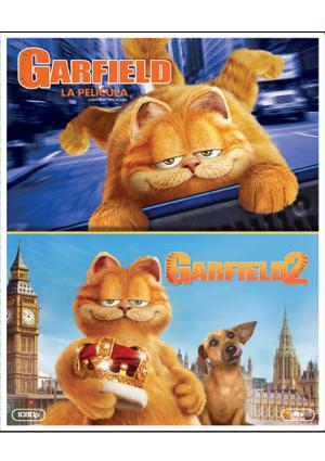 Pack garfield: la película + garfield 2 blu-ray peter hewitt.
