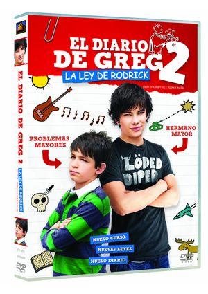 el diario de greg 2: la ley de rodrick (dvd)-8420266961075
