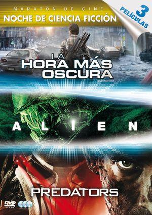 la hora mas oscura + alien + predators (dvd)-8420266963758