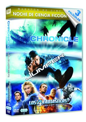 chronicle + jumper + los 4 fantasticos y silver surfer (dvd)-8420266963932