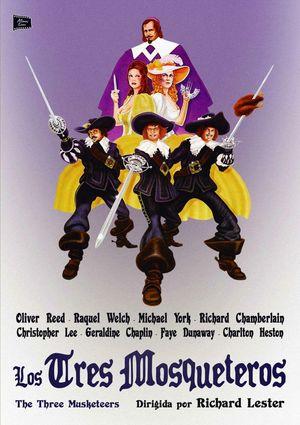 los tres mosqueteros (dvd)-8436541003514