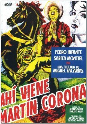ahi viene martin corona (dvd)-8436022310490