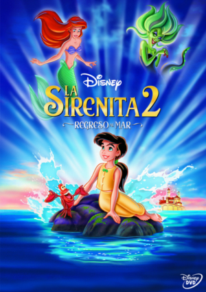 la sirenita 2: regreso al mar (2013) (dvd)-8717418323325