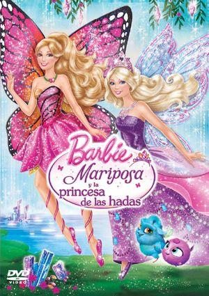 barbie mariposa y la princesa de las hadas (dvd)-8414906850652