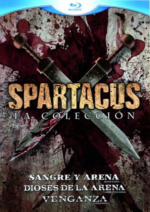 trilogia spartacus:dioses de la arena/sangre y arena/venganza(blu -ray)-8420266967787