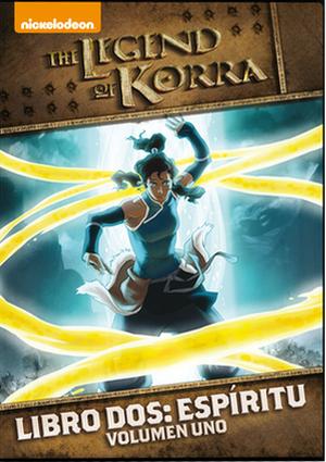 la leyenda de korra: libro dos: espiritu - volumen 1 (dvd)-8414906768674