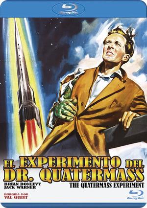 el experimento del dr. quatermass (blu-ray)-8436548868109