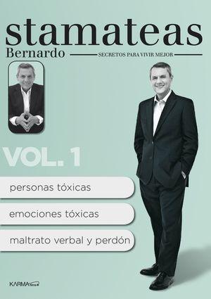 bernardo stamateas. secretos para vivir mejor vol.1 (dvd)-8437010737091