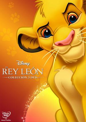 trilogia rey leon 2015 (dvd)-8717418471705