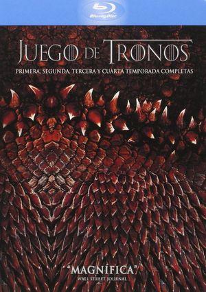 juego de tronos: temporadas 1-4 (blu-ray)-5051893228311