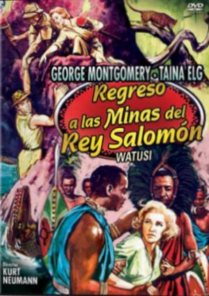 regreso a las minas del rey salomon (dvd)-8436022327351
