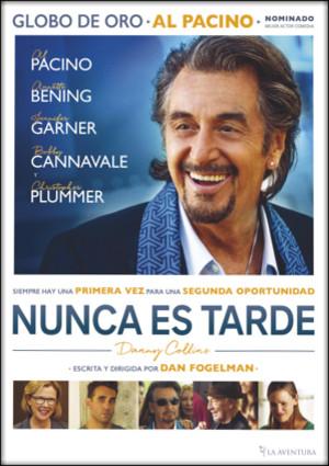 nunca es tarde (danny collins) (dvd)-8435175970735