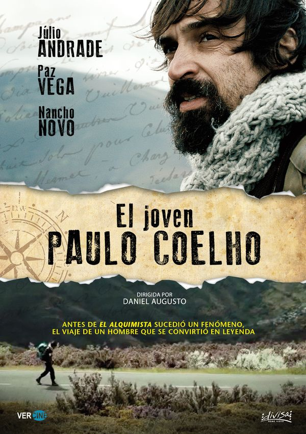 el joven paulo coelho (dvd)-8421394549203