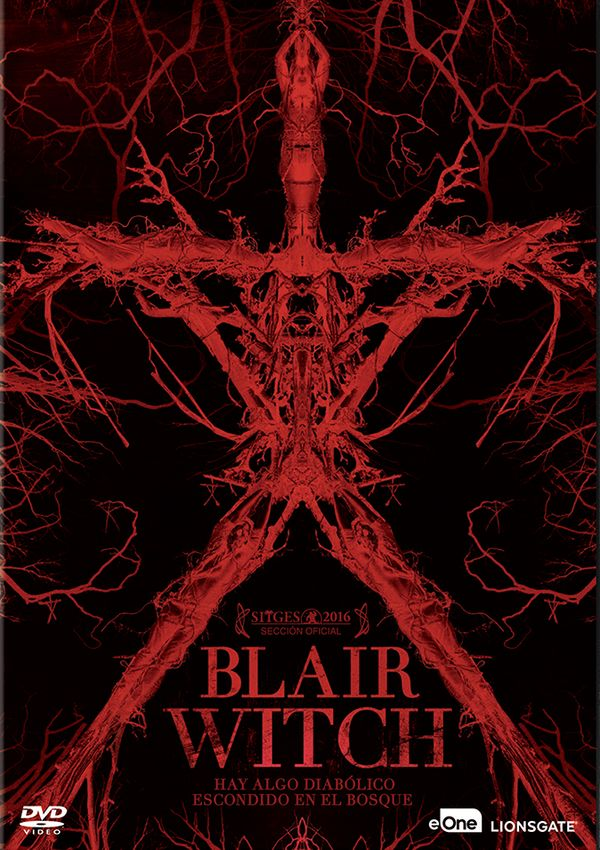blair witch - dvd --8435175971985