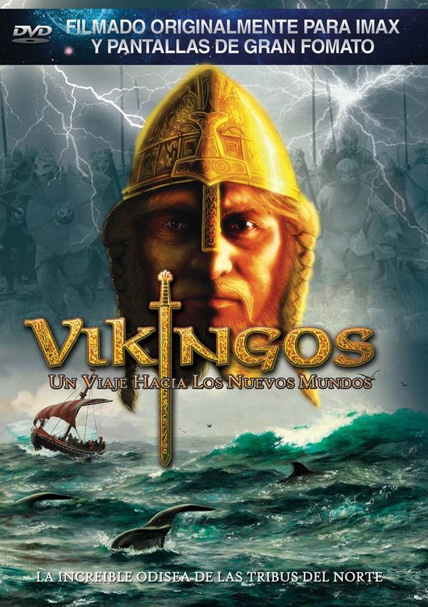 vikingos. la saga de las nuevas tierras - dvd --8436569300602