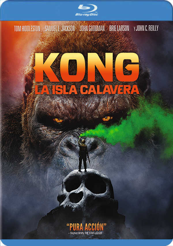 kong: la isla calavera - blu ray --8420266007735