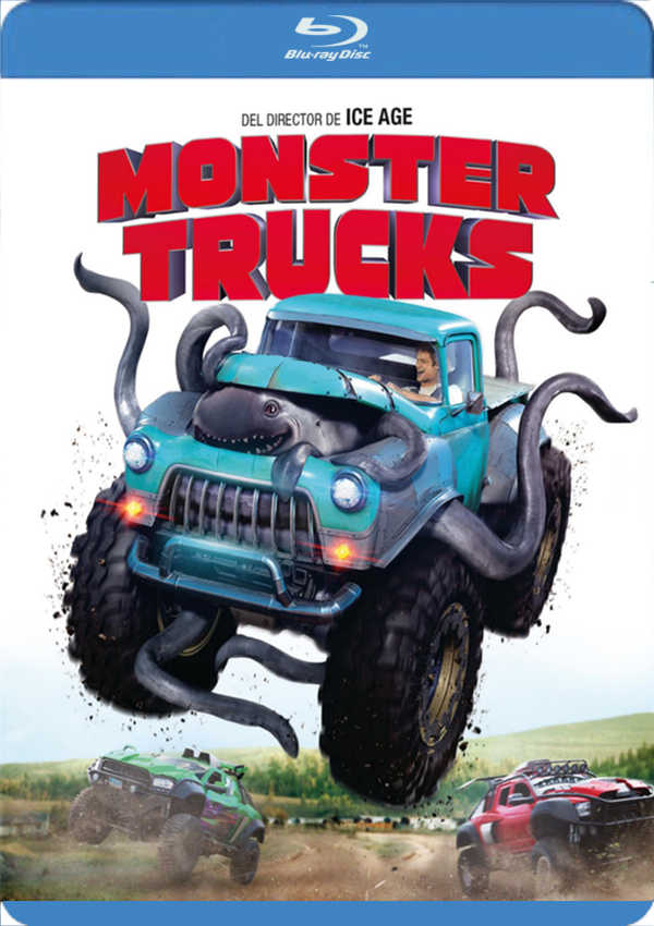 MONSTER TRUCKS - BLU RAY - de Chris Wedge - 8414533104586, comprar ...