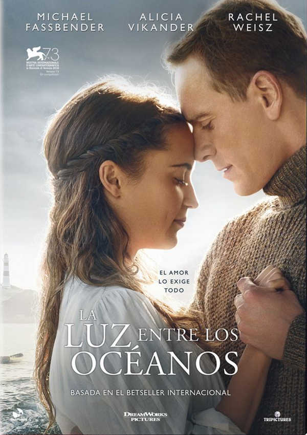 la luz entre los océanos - dvd --8422632057023