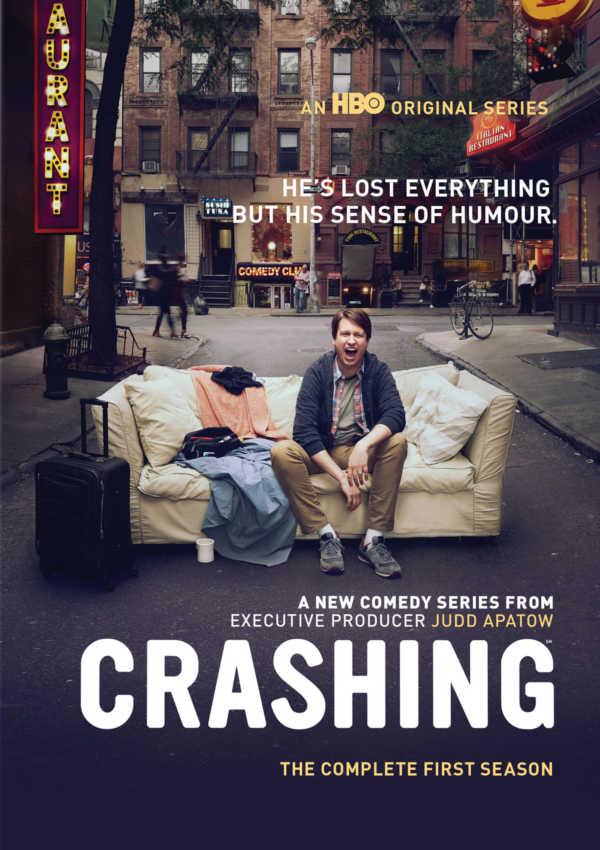 crashing - dvd - temporada 1-8420266009555