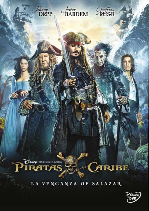 piratas del caribe. la venganza de salazar - dvd --8717418505363