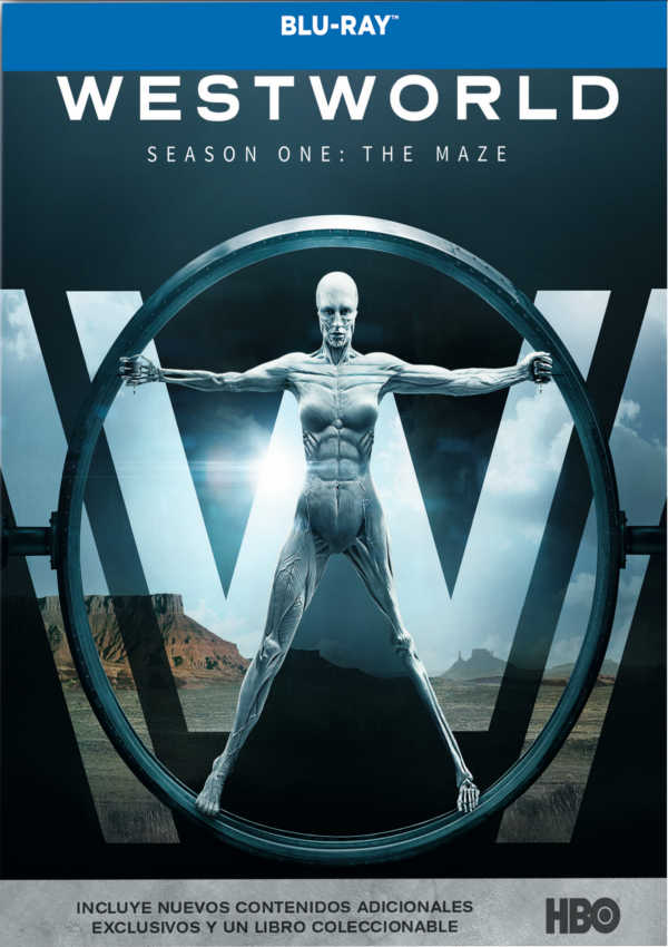westworld - blu ray - temporada 1-8420266010827