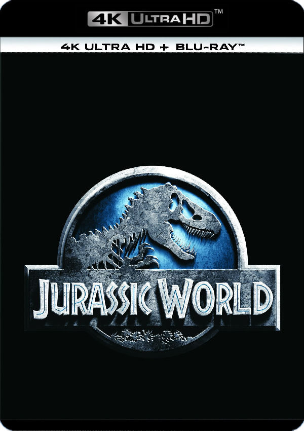 jurassic world 1 - 4k uhd + blu ray --8414533112260