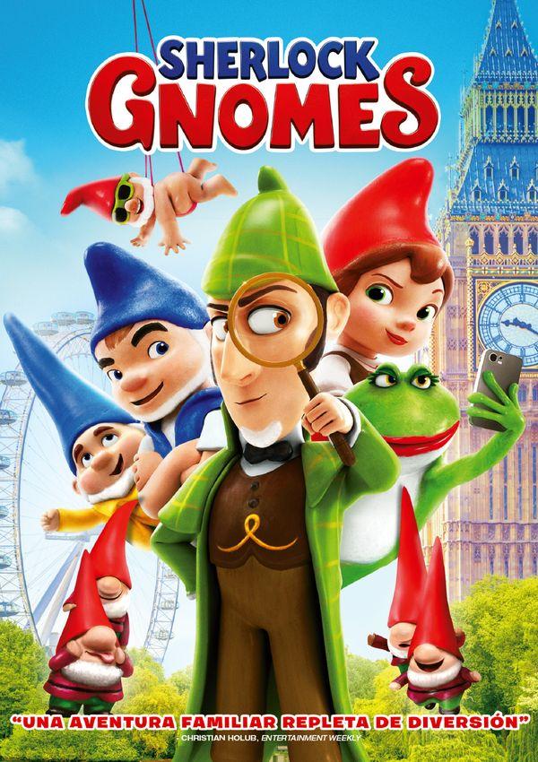 sherlock gnomes - dvd --8414533115629