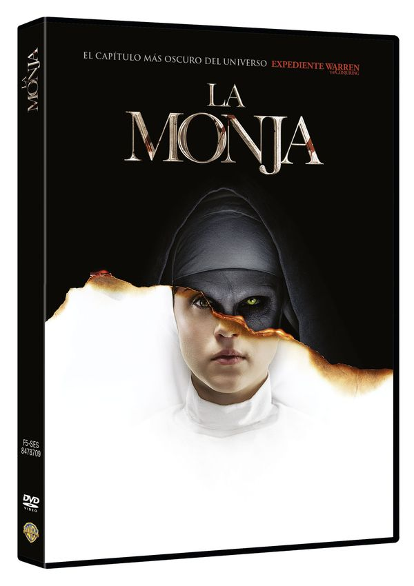 la monja - dvd --8420266018731