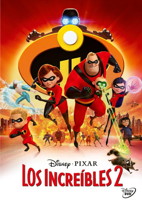 los increibles 2 - dvd --8717418530785