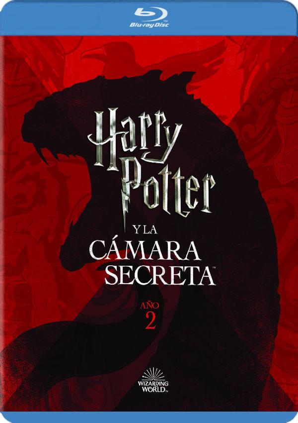 harry potter y la cámara secreta. ed. 2018 - blu ray --8420266018939