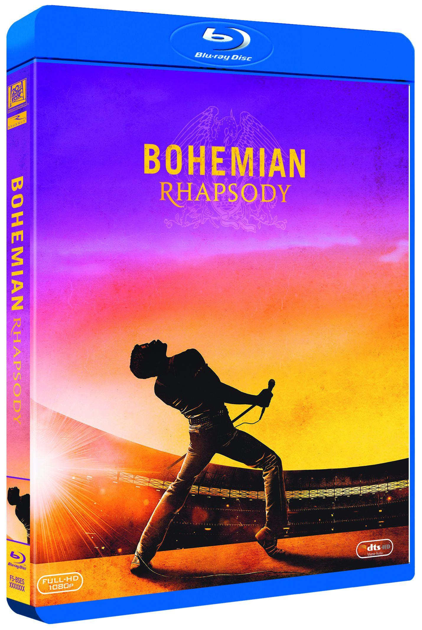 bohemian rhapsody - blu ray --8420266020864