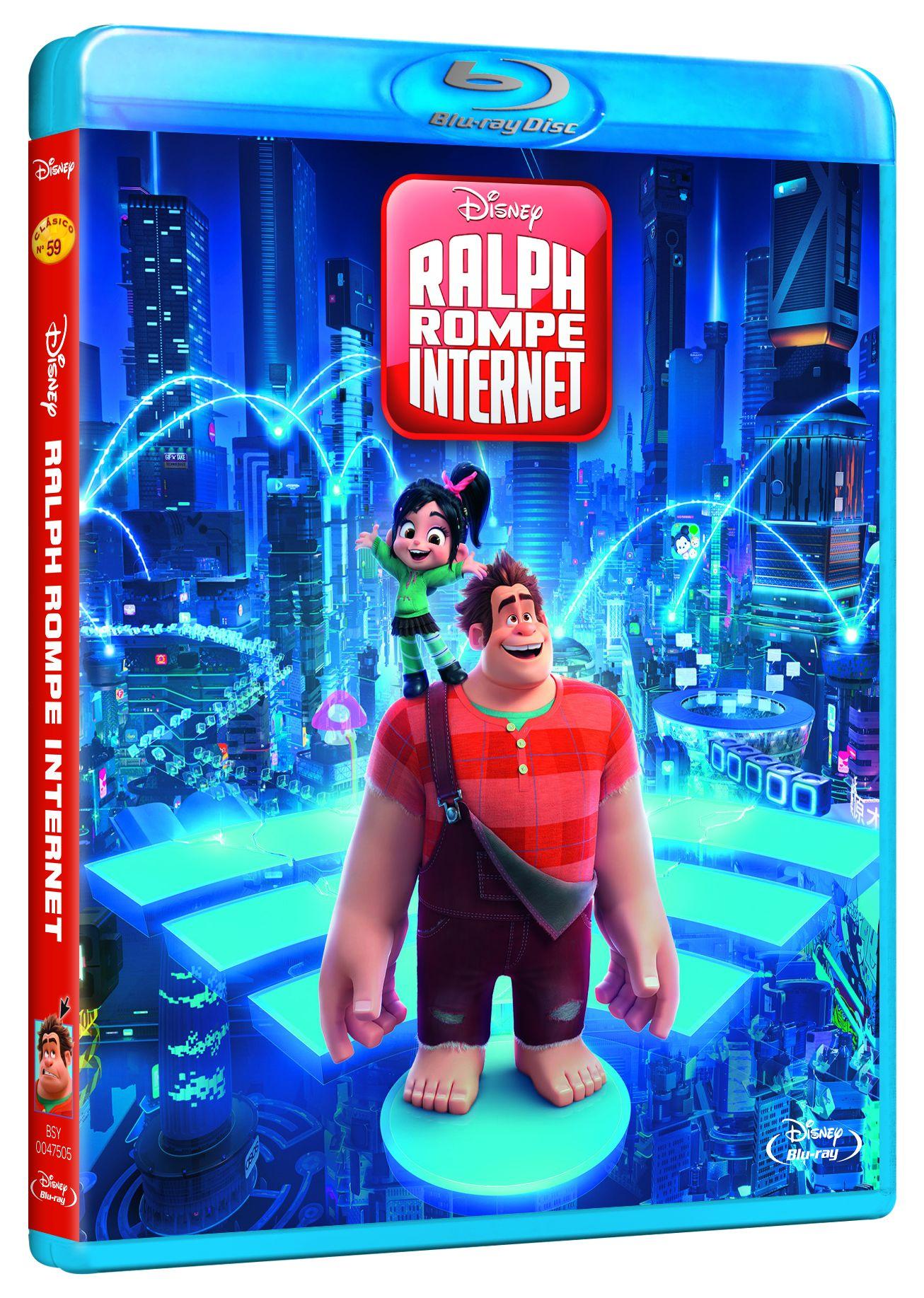 ralph rompe internet - blu ray --8717418541392