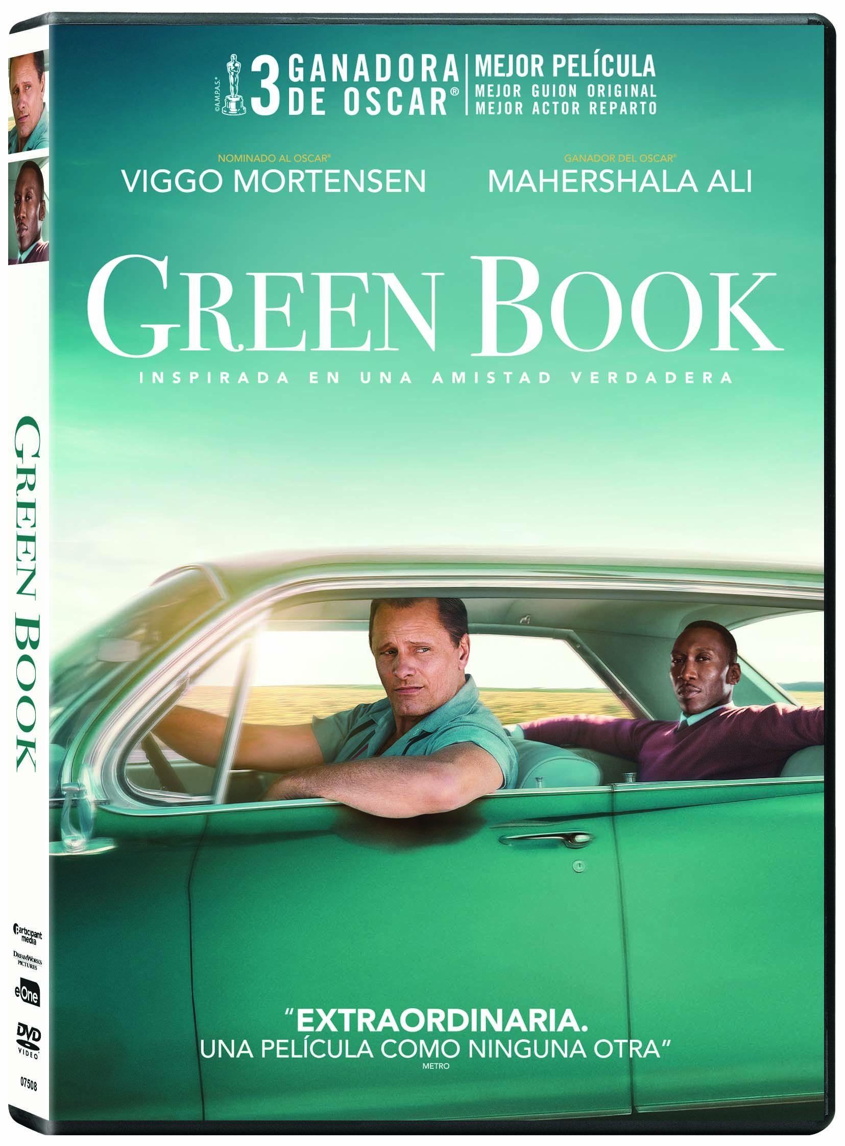 GREEN BOOK - DVD - de Peter Farrelly - 8435175975082