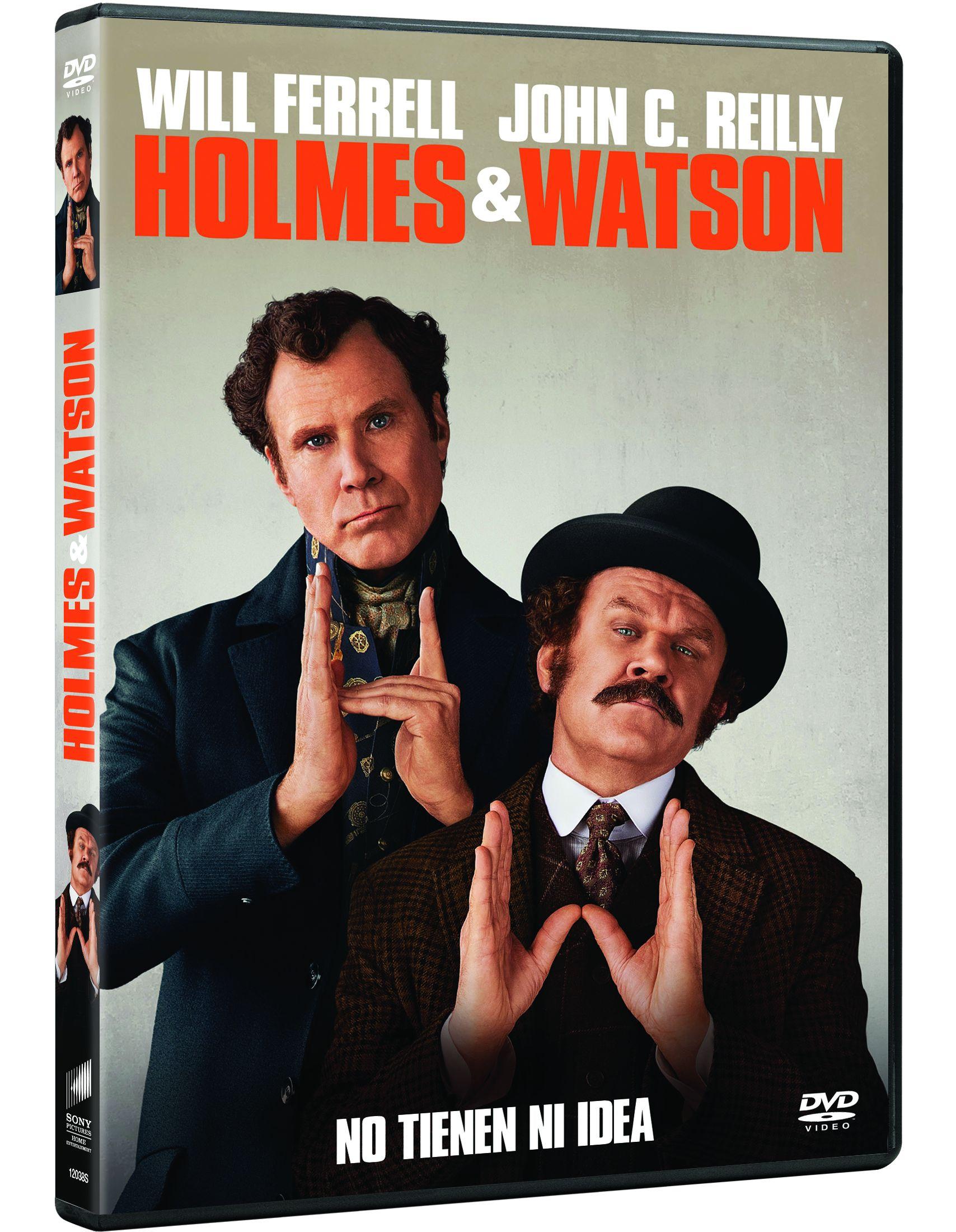 holmes y watson - dvd --8414533120388