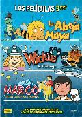 pack la abeja maya + wickie el vikingo + marco: de los apeninos a-8435153703812