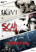 saw vi + scar + piraña 3d (dvd)-8435153734939