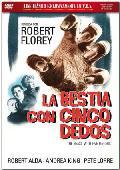 la bestia con cinco dedos (vos) (dvd)-8436548862640