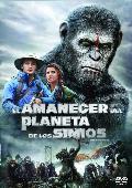 el amanecer del planeta de los simios - dvd --8420266008398